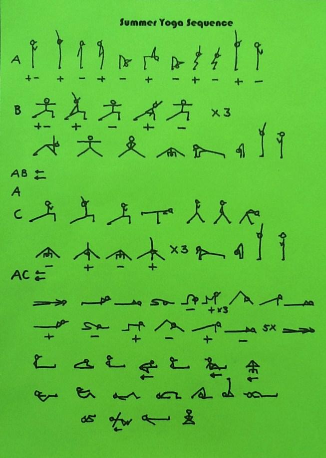 Summer Yoga Sequence - Kishori YogaKishori Yoga